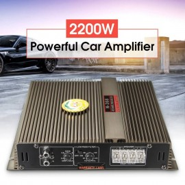 Car Audio Mini Super Bass Amplifier 2 Channel Ν-368- 2200Watt - HUNL
