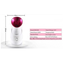 SQ-518 Facial Ionic Steamer Cleansing & Hydrating Device