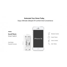 Sonoff Basic - WiFi Wireless Smart Switch For MQTT COAP Smart Home