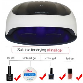 T2 36 LED Professional Gel Oven, Semi-permanent, Simple 4 in 1 Manicure - LED / UV Nail Lamp 4 in 1